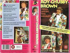 STAND-UP COMEDY VIDEO SLEEVE - ROY CHUBBY BROWN - FROM INSIDE THE HELMET!