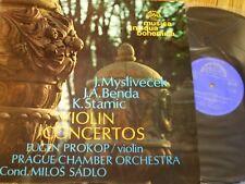1 10 1060 Myslivecek / Benda / Stamic Violin Concertos / Prokop / Sadlo / Prague