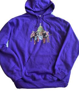 Foo Fighters Christmas Sweatshirt Hoodie Purple Women Medium Shirt