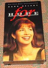 FOR HOPE: DANA DELANY, SCLERODERMA, Rare vhs video, Polly Bergen & John Ritter