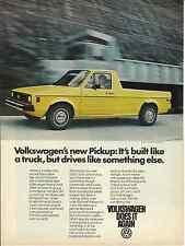 VOLKSWAGEN PICKUP 1980 VINTAGE MAGAZINE AD  INV#172