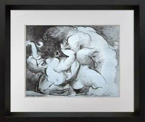 """Pablo Picasso Lithograph LIMITED Edition """"Minotaur"""" - *Sign w/Custom FRAME"""