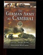 br- THE GERMAN ARMY AT CAMBRAI,  , Jack Sheldon, 1st UK  HBdj VG/VG