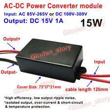 AC-DC Converter AC 110V 220V 230V to DC 15V 1A Volt Power Switching Transformer
