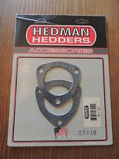 Hedman Hedders 27410 2.5 Inch 3 Bolt Header Collector Flange Gasket Set of 2