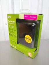 WD My Passport Essential SE 750 GB External USB Portable Hard Drive