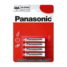 Panasonic R03RZ/4BP AAA Zinc Carbon 1.5V Batteries Carded 4