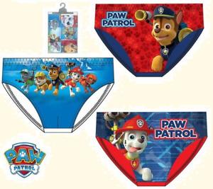 Kinder Jungen Unterhose Slip PAW Patrol Unterwäsche Disney