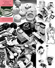 Millinery Book Hat Making Make Hats LANGRIDGE 1950 50s Textbook of Model
