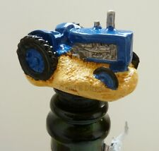Wine Saver Bottle Stopper Handpainted Novelty Bottle Stoppers Farm Tractor