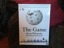 The Game about Wikipedia.The online encyclopaedia new factory sealed