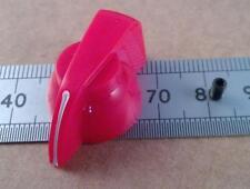 """Pollo rojo cabeza volumen puntero mando de 6,3 mm/0,25 """"ejes"""