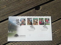 KOKODA JOINT ISSUE   2010 AUSTRALIA STAMPS  FIRST DAY COVER PEEL N STICK