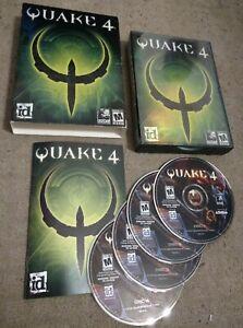 Quake 4 (2005) id Slipcover PC COMPLETE!