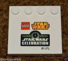 2015 Star Wars Celebration Anaheim VII 7 LEGO Baseplate stand piece exclusive