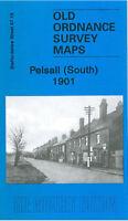 OLD ORDNANCE SURVEY MAP PELSALL SOUTH 1901 HEATH END SHELFIELD GOSCOTE HALL