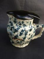 Vintage Australian  Electric Jug '' DURALEX'' Mottled Blue on Cream 1940's Rare