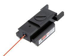 20mm Tactical Red Dot Mini Laser Sight Scope Gun Rifle Pistol Hunting Optics
