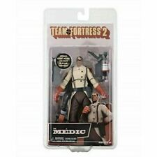 """NECA - TEAM FORTRESS 2 MEDIC - RED TEAM 7"""" Action Figure WITH DLC CODE!"""