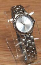Genuine Sweda Silver Tone 3ATM Japan Movement 12 Hour Analog Face Wrist Watch