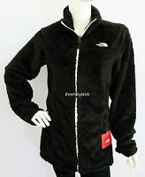 NORTH FACE Women's Silken Fleece Jacket TNF Black / White Zip S, M  MSRP $150