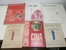 RARE Lot 6 Magazines Architecture Palladium 1937 houses the House today