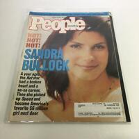 People Magazine: Aug 14 1995 - Sandra Bullock: Broken Heart & So-so Career