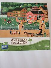 Americana Collection 500 Pc Puzzle Anthony Kleem Home Tweet Home Used Complete