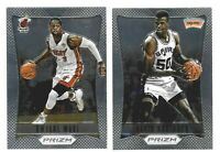 2012-13 Panini Prizm Basketball Base 1st Year - Complete Your Set You Pick!