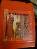 The Three Degrees Self Titled 8 Track Philadelphia Records ZA 32406 tested