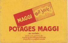 Buvard Vintage  Potages MAGGI