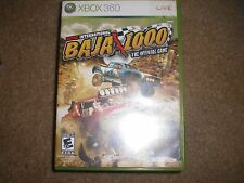 Score International Baja 1000 (Microsoft Xbox 360, 2008) COMPLETE TESTED,CLEANED