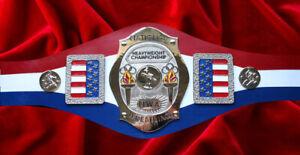 NWA National Heavyweight Wrestling Championship Belt Legacy Georgia George Levy