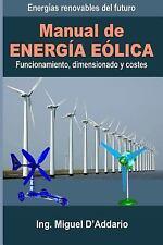 Manual de Energía Eólica : Funcionamiento, Dimensionado y Costes by Miguel...