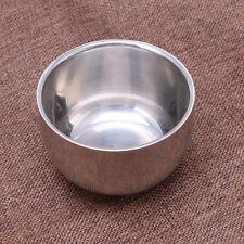 Stainless Steel 200ml Metal Men's Shaving Mug Bowl Cup Large For Shave Brush