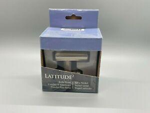 BRAND NEW Gatco Latitude 2 Single Robe Hook in Satin Nickel 4295