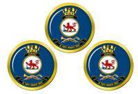 Hmas Hobart Royal Australien Marine Marqueurs de Balles de Golf