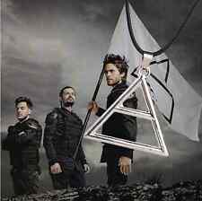 New Hot Thirty 30 Seconds To Mars Triad Triangle Silver Unique Necklace Pendant