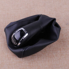 6 Speed Gear Shift Knob & Gaitor Boot Cover Fit Mercedes-Benz C-Class W203 S203