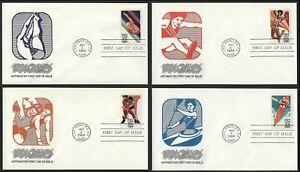 #2082-2085 20c 1984 Summer Olympics, Artmaster FDC ANY 4=