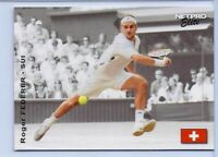 "ROGER FEDERER 2003 ""1ST EVER PRINTED"" NETPRO ELITE TENNIS ROOKIE CARD! LEGEND!"