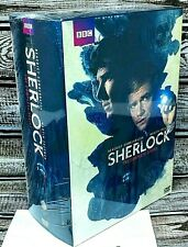 Sherlock: Complete Series Seasons 1-4 + The Abominable Bride (DVD) NEW!