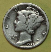 US Mercury silver Dimes Price per Each Coin 1935-P 1936-P 1937-P CHECK Inventory