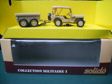 Remorques miniatures Solido 1:50