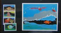 Grenada 1985 Marine Life set & Miniature Sheet MNH