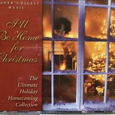 Readers Digest Music Ill Be Home For Christmas 4 CDs Ultimate Holiday Homecoming