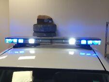 BARRA LAMPEGGIANTE A LED BLU X AMBULANZA, PROTEZIONE CIVILE, ANTINCENDIO Automed
