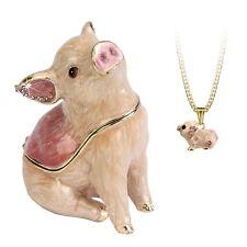 Secret - Hidden Treasures Pig Trinket Box NEW in Gift Box - 25982