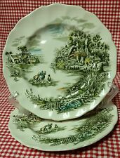 Set (2) Happy England Bread & Butter Plates Johnson Brothers Made in England