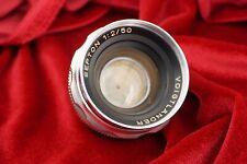 Voigtlander Septon 50mm F2 DKL Mount Lens For  Bessamatic